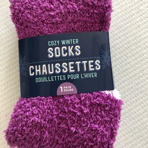 Cozy winter socks